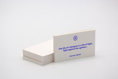 image of freelancer business cards