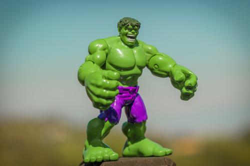 Incredible hulk figurine symbolizing the effort to control overconfidence bias