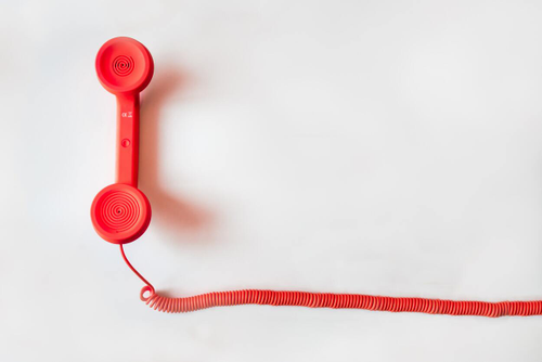 Image of a phone representing communication between freelancers and organizations.