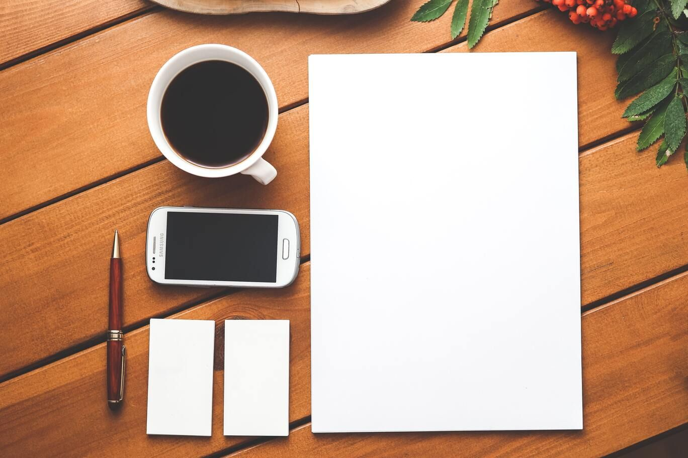Marketing proposal blank template