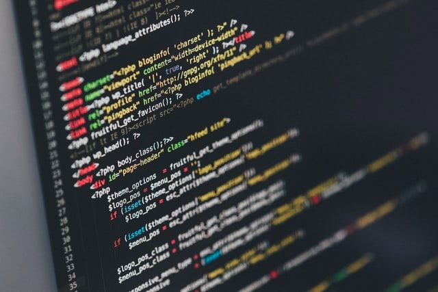 java programming shown on computer screen