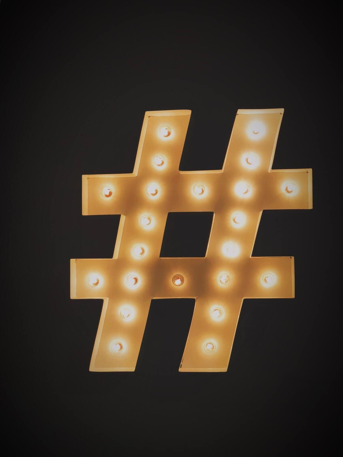 Social media accounts and the use of hashtags are a great way to market your freelance business