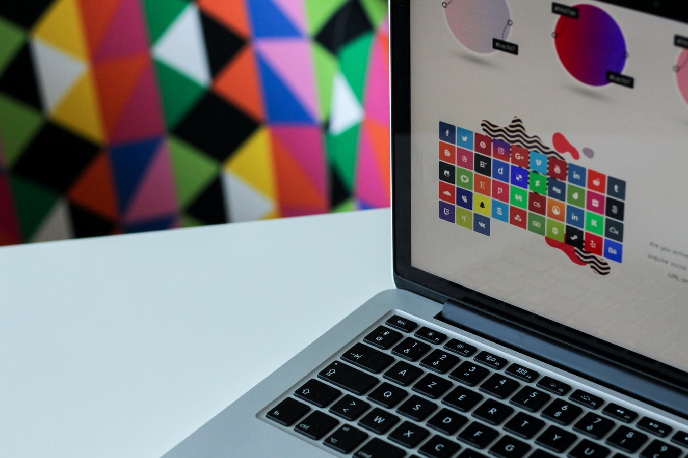 Graphic designer computer
