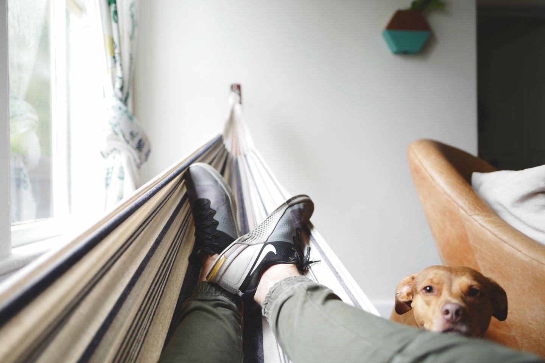freelance writer performing self care