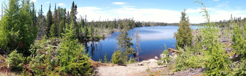 Wisconsin lake scene