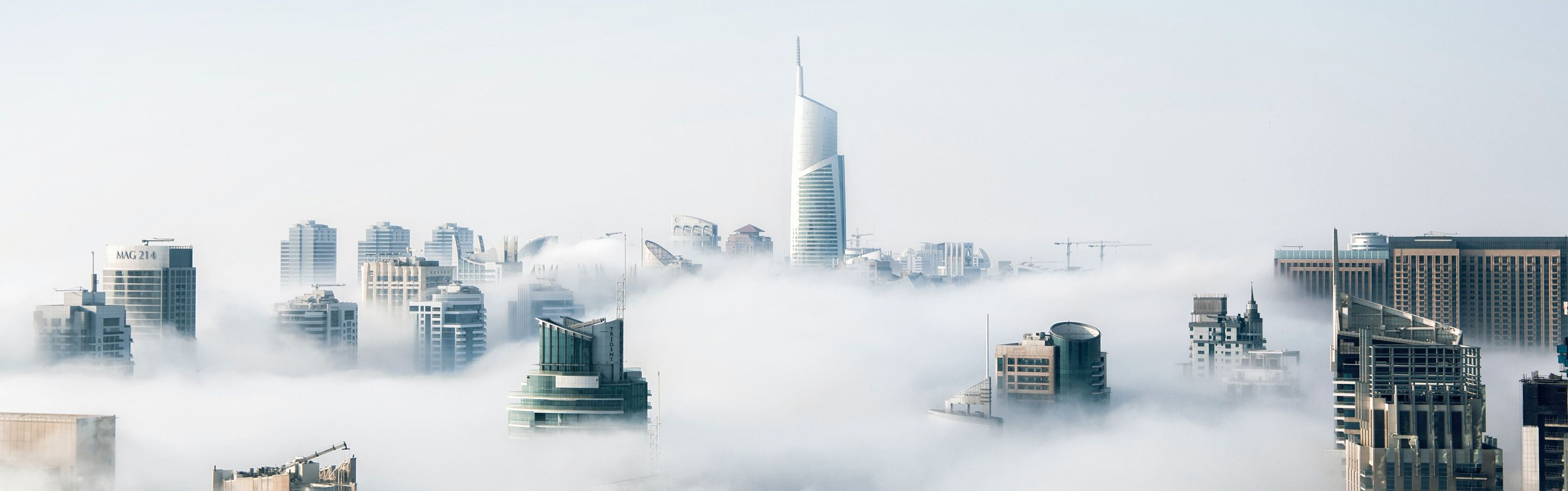 image of skyscrapers showing building a business