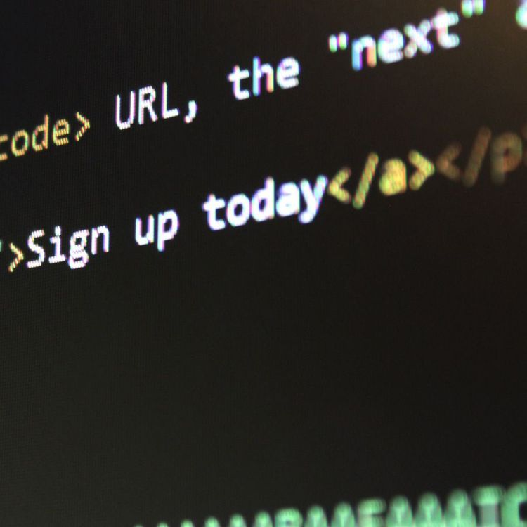 Computer coding for a website button